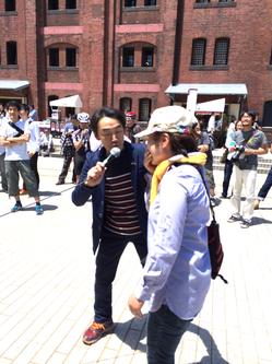 ミニベロ大使・石井正則さんがヨメにインタビュー