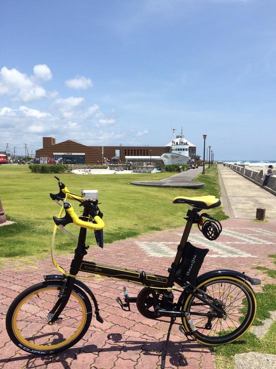 自転車乗りの味方「道の駅」も整備されてます