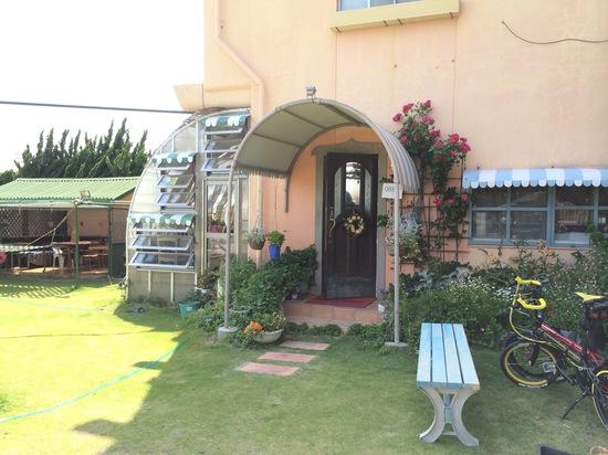 南房総の少し内陸の住宅地にあったカフェ