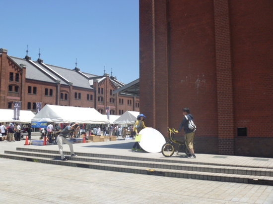 自転車日和さんのインタビューと撮影
