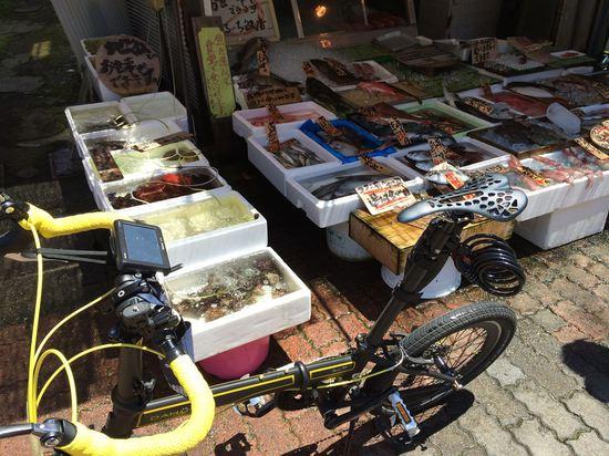 店頭で選んだ魚で調理してくれるというお店。