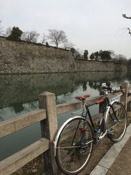 姫路城の城壁
