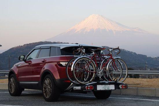 富士山とEvoque