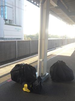 JR内房線で五井駅へ