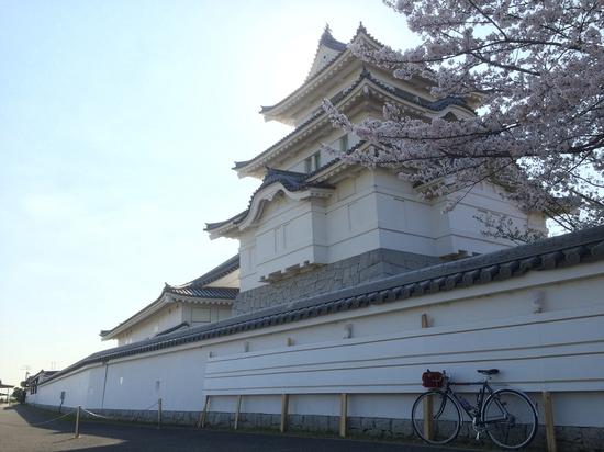関宿城に到着