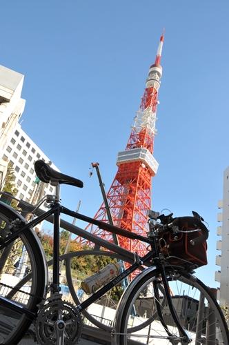 東麻布あたりからの東京タワー