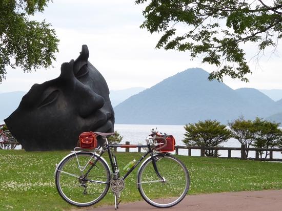 北海道ツーリング(6)洞爺湖を走る