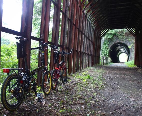 わたらせ渓谷鐵道の廃トンネル