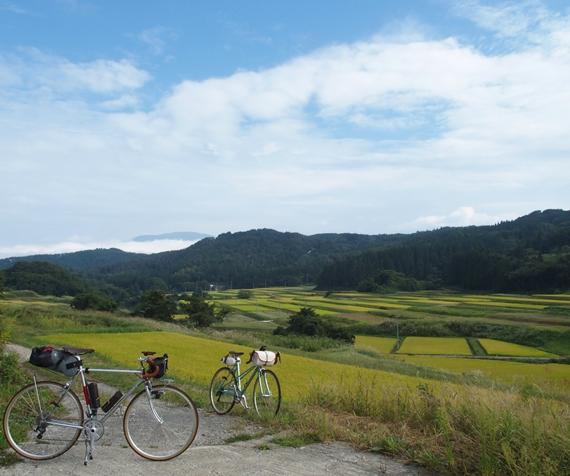 会津の田園風景